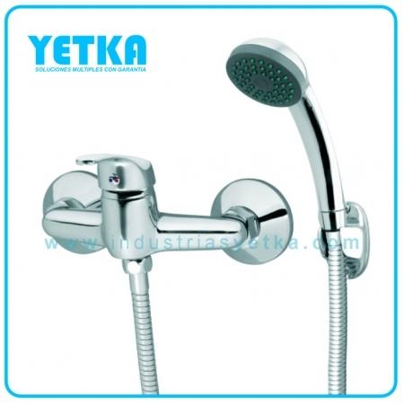 yetka mezcladora monocomando para ducha industrias