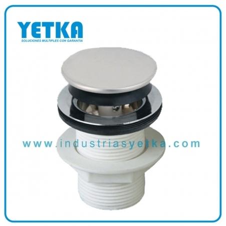 Yetka desag e push para lavabo industrias yetka s l - Sifones para lavabos ...